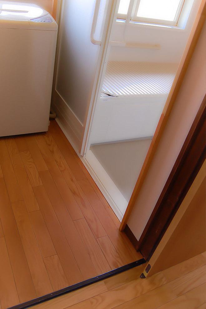 廊下と脱衣室
