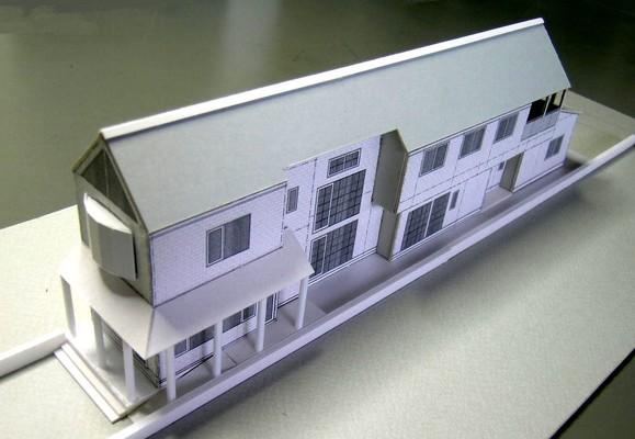 完成イメージ模型