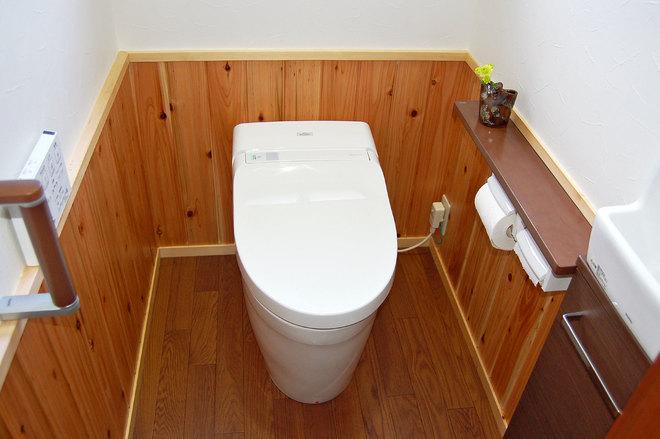 一体型のトイレ