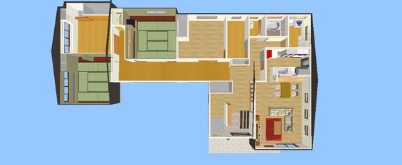 施工後のイメージ鳥瞰図