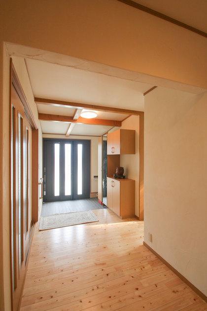 玄関収納とクローゼット
