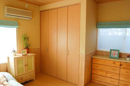 寝室の収納