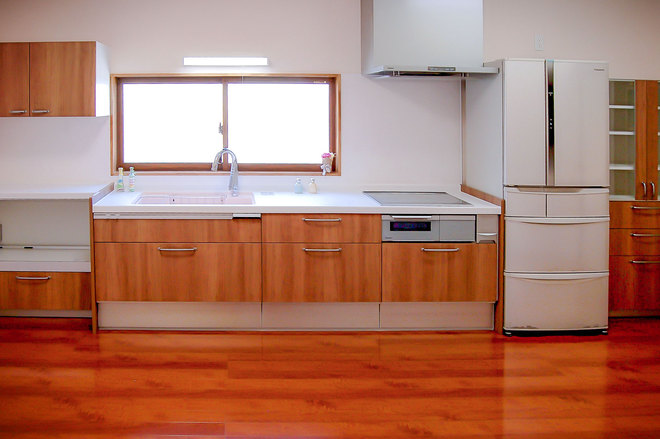 10畳に広くなったシステムキッチン