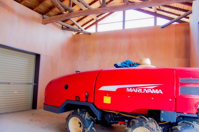 農機具置き場