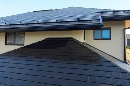 屋根塗装仕上げ