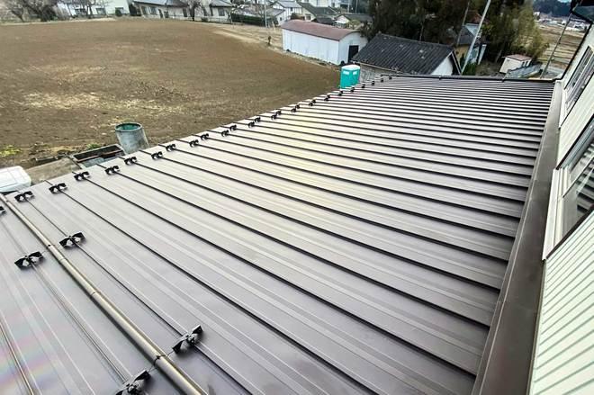 重ね葺き屋根